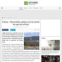 France : l'Assemblée adopte une loi contre les gaz de schiste