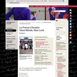 La France d'Avedon Vieux Monde, New Look à la BnF F. Mitterrand