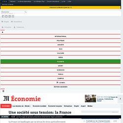 La France championne du stress au travail