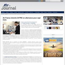 Air France cherche 24 PNC en alternance pour sept mois