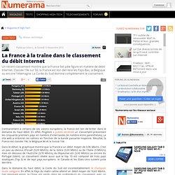 La France à la traîne dans le classement du débit Internet