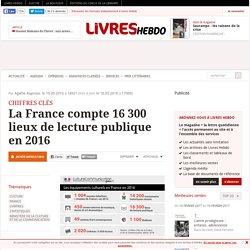La France compte 16 300 lieux de lecture publique en 2016