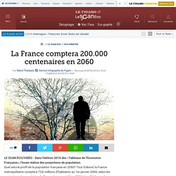 La France comptera 200.000 centenaires en 2060
