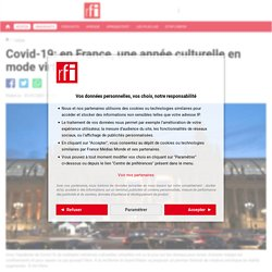 Covid-19: en France, une année culturelle en mode virtuel