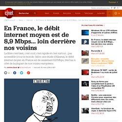 En France, le débit internet moyen est de 8,9 Mbps... loin derrière nos voisins