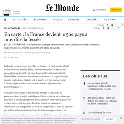 En carte: la France devient le 56e pays à interdire la fessée