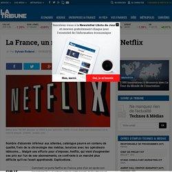 La France, un marché difficile pour Netflix
