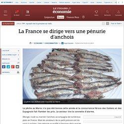 LE FIGARO 04/10/14 La France se dirige vers une pénurie d'anchois