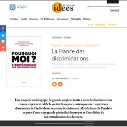 La France des discriminations