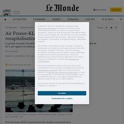 Air France-KLM: l'Etat n'écarte pas une recapitalisation