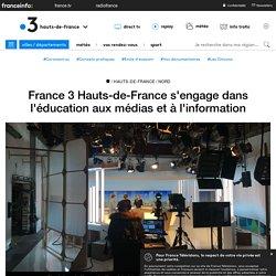 France 3 Hauts-de-France s'engage dans l'éducation aux médias et à l'information