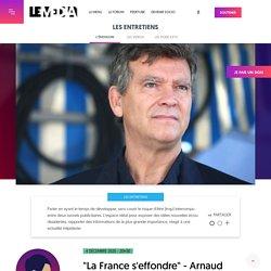 """4 déc. 2020 """"La France s'effondre"""" - Arnaud Montebourg"""