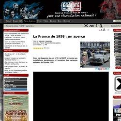 La France de 1958 : un aperçu