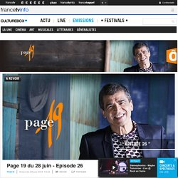 Page 19 - France Ô : tout sur l'émission, livres, voir, revoir, news et vidéos en replay