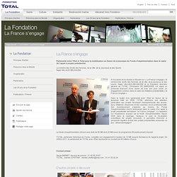 La France s'engage - Fondation Total