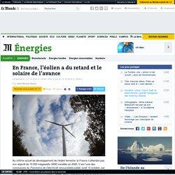 En France, l'éolien a du retard et le solaire de l'avance