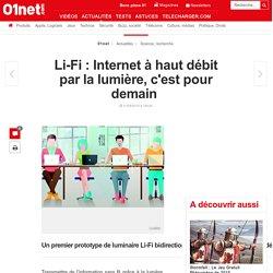Le Lifi passe au haut débit en France avec le fabriquant Lucibel