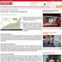 En France, il fait de plus en plus bio - 05/09/2013 - LaDépêche