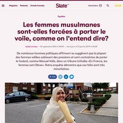 «En France, les femmes sont libres»... et les femmes voilées aussi