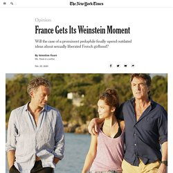 France Gets Its Weinstein Moment