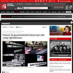 France: le gouvernement lance son site «stop-djihadisme»