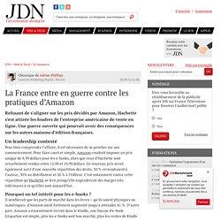 La France entre en guerre contre les pratiques d'Amazon