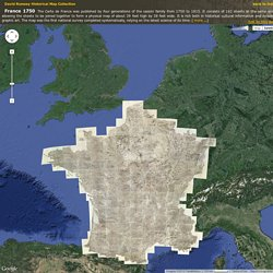 France 1750 - David Rumsey Historical Map Collection