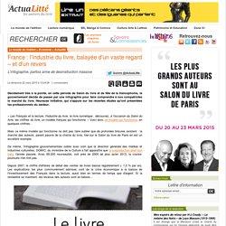 France : l'industrie du livre, balayée d'un vaste regard – et d'un revers