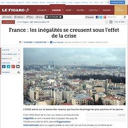 France : les inégalités se creusent sous l'effet de la crise