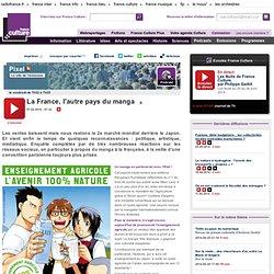 La France, l'autre pays du manga