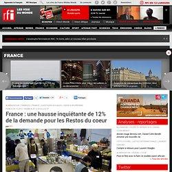 France : une hausse inquiétante de 12% de la demande pour les Restos du coeur - France