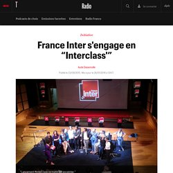 "France Inter s'engage en ""Interclass'"""