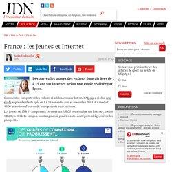 France : les jeunes et Internet