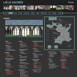 France - Lieux Sacrés