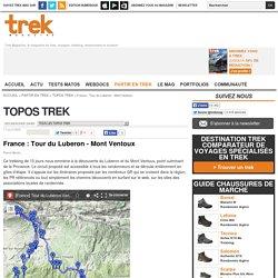 France : Tour du Luberon - Mont Ventoux : Topos Trek