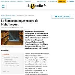 La France manque encore de bibliothèques