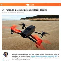 En France, le marché du drone de loisir décolle