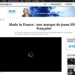 Made in France : une marque de jeans 100% française