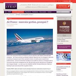Air France : mauvaise gestion, pourquoi