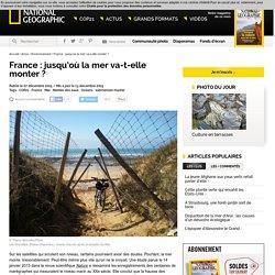 #COP21 - France : jusqu'où la mer va-t-elle monter