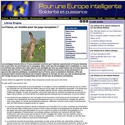 La France, un modèle pour les pays européens?