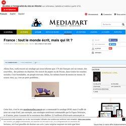 France : tout le monde écrit, mais qui lit ?