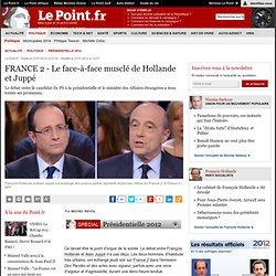 FRANCE 2 - Le face-à-face musclé de Hollande et Juppé