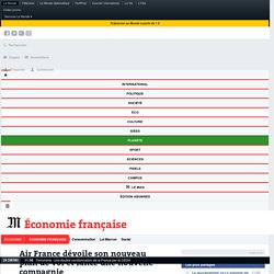 Air France lance une nouvelle compagnie