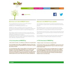 WWOOF France - WWOOF World Wide Opportunities on Organic Farms (France)