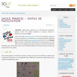 [Agile France] – Outils de facilitation
