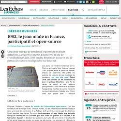 1083, le jean made in France, participatif et open-source