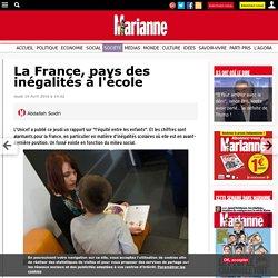La France, pays des inégalités à l'école