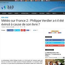 Météo sur France 2 : Philippe Verdier a-t-il été évincé à cause de son livre ?