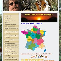 Beaux pps - photorando Drome Provence